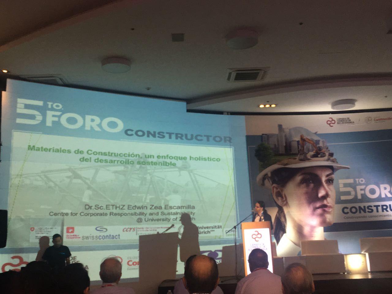 Quinto Foro Constructor en Bucaramanga