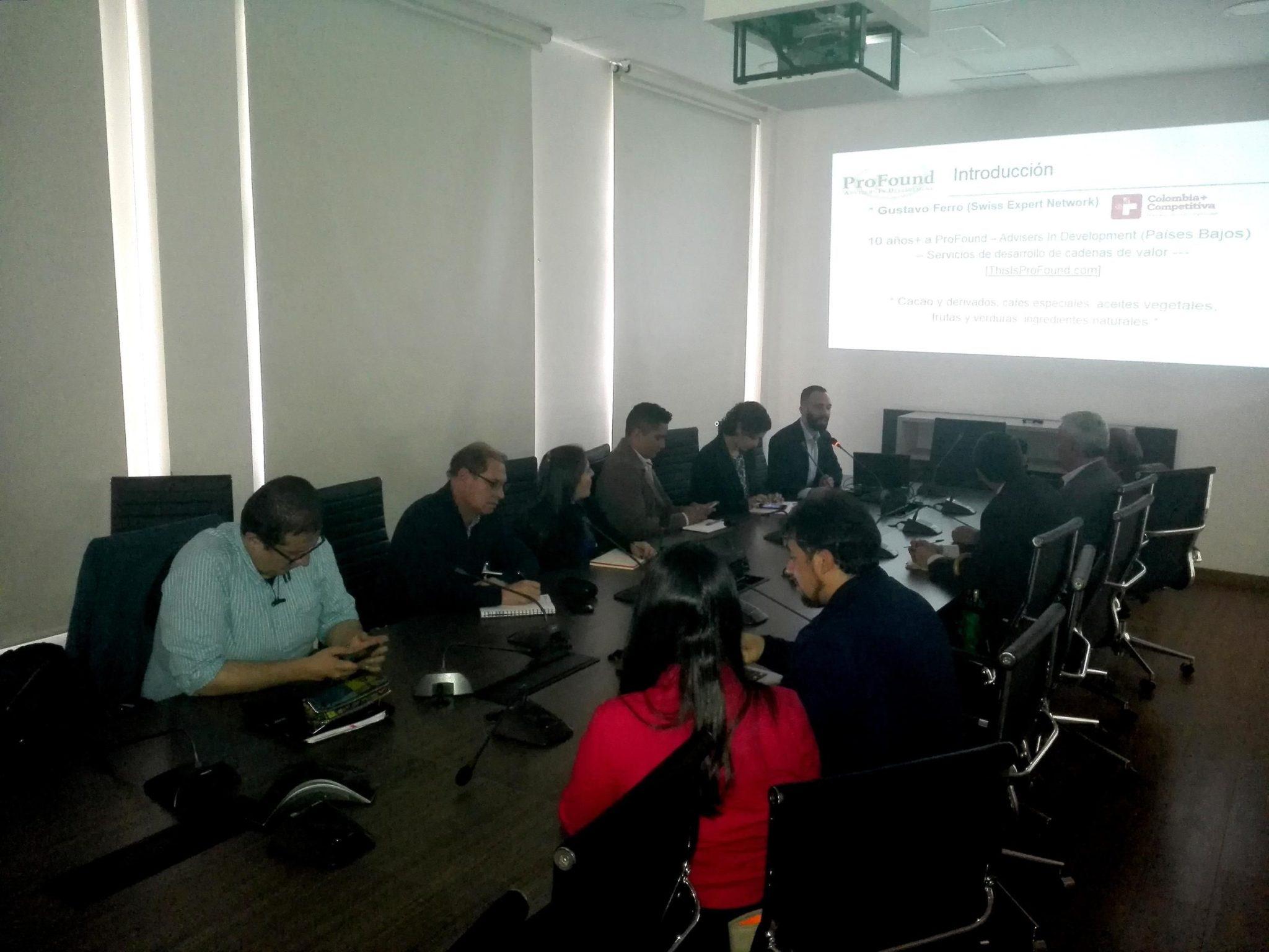 Conversatorio SEN: Oportunidades para el Cacao Colombiano